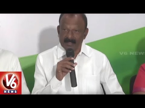 AP PCC Chief Raghuveera Reddy Announces Congress Pre Manifesto | Vijayawada | V6 News