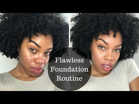 Flawless Foundation Routine to Cover Acne Scars