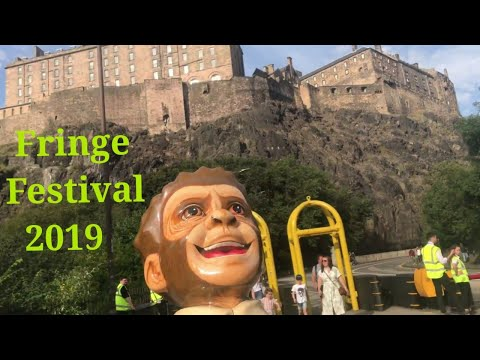 Vlog 12 • Road Trip to Edinburgh's Fringe Festival 2019 | Covered 600+ Miles Overall