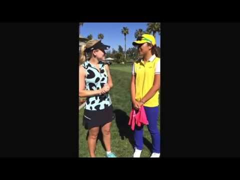 Interview with Lydia Ko!! She is so amazingly nice!! Wishing her the best at the Kia Classic!