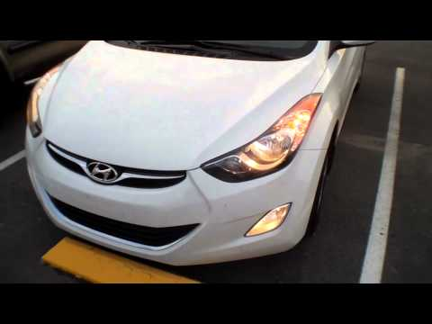 2013 Hyundai Elantra Full Lighting Walkaround