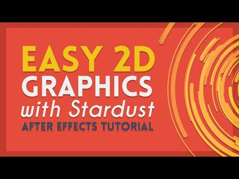 Particle Based Motion Graphics | After Effects Tutorial