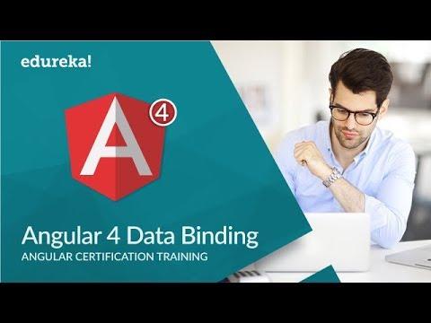 Angular 4 Data Binding | Two Way Data Binding in Angular 4 | Angular 4 Tutorial | Edureka