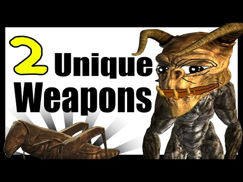 Fallout 4: Secret Unique Weapons! (Deadly Deathclaw Weapon, & Shem Drowne's Radioactive Sword)