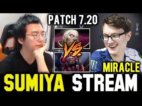 SUMIYA watching how MIRACLE Invoker vs Broodmother | Sumiya Invoker Stream Moment #419