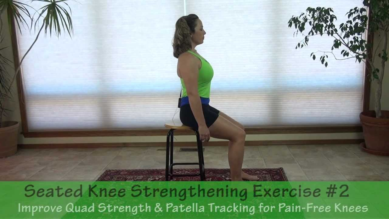 Seated Knee Strengthening Exercise