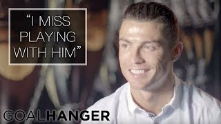 Cristiano Ronaldo on Wayne Rooney FULL INTERVIEW | Wayne Rooney: The Man Behind the Goals
