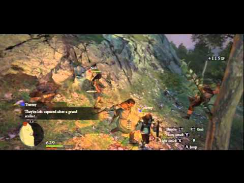 Dragon's dogma playthrough W/Turk part 20-Finding Quina