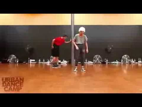 Dancers Performing Is This Love by Bob Marley as an Old Couple