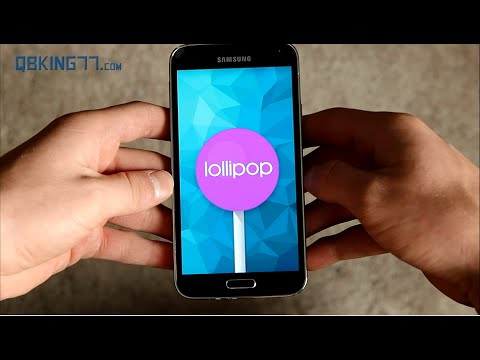 Android 5.0 Lollipop on Samsung Galaxy S5: Test Build