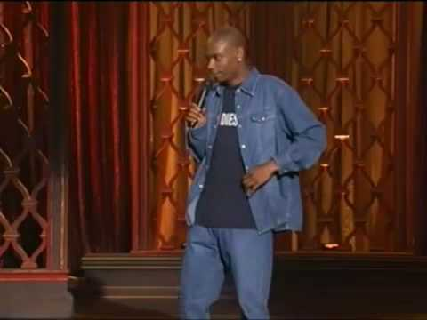 Dave Chappelle - open racism