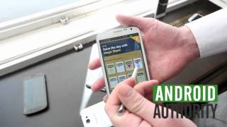 Samsung Galaxy Note 2 : First Impressions & Benchmarks