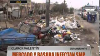 Mercado Y Basura Infectan Smp