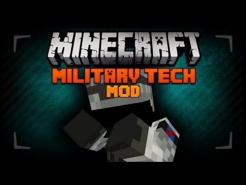 Minecraft Mod Review - Minecraft - Army And Missile Mod 1.6.4
