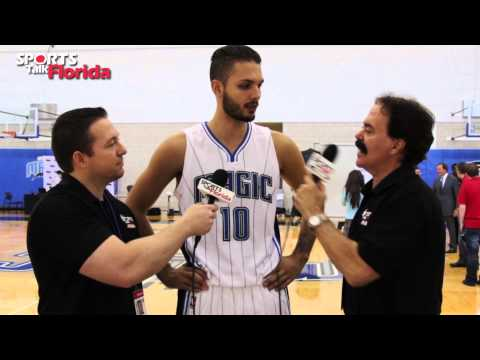 Orlando Magic Media Day: Evan Fournier Talks New Season