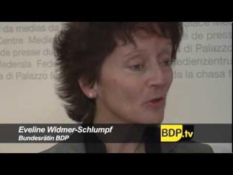 Interview zur allgemeinen Volksinitiative mit BR Eveline Widmer-Schlumpf