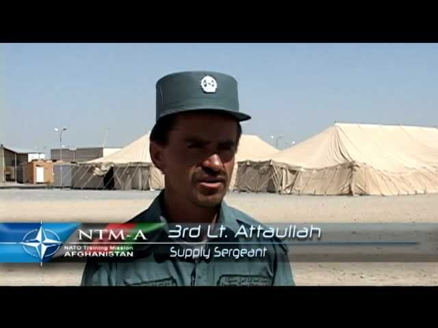 Afghan Police defend supply convoys