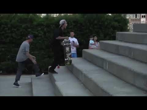 Barcelona Spain with @chrisjoslin_ 🎥: @devinlopezz   Shralpin Skateboarding