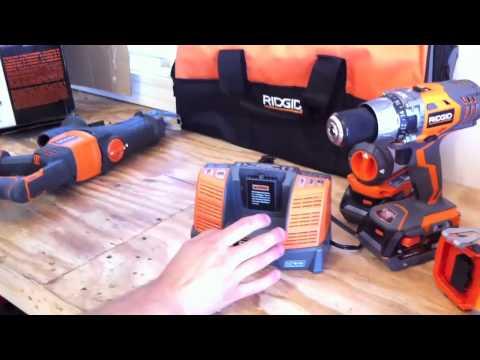 RIDGID X4 18V 5 Pc. Combo Kit R9551- Review
