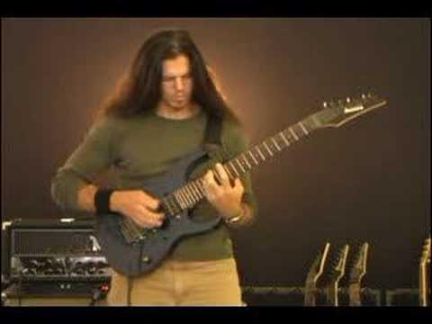Chris Broderick (Megadeth/Jag Panzer) - string skipping demo