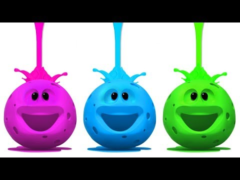 Wonderballs Cartoons | LIVE | Colors and Paint | Learning Videos For Babies | Cartoon Candy