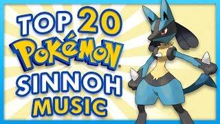 Top 20 Sinnoh Music Themes - Pokemon Diamond, Pearl and Platinum