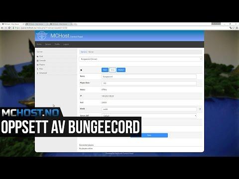 Oppsett av Bungeecord