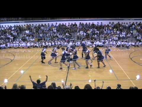 HILARIOUSLY AWESOME DANCE 2 by Carroll Senior Powder Puff Cheerleaders 2009-2010