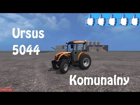 Review Ursus 5044 Komunalny #FS15