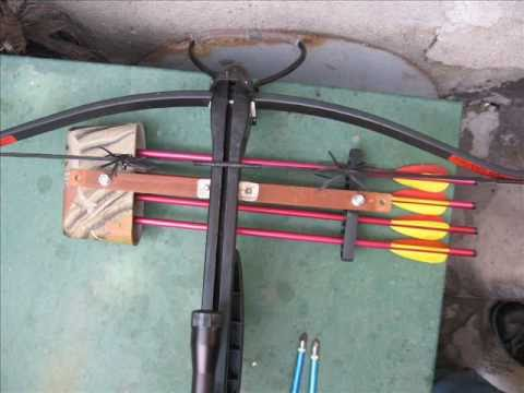 How to Add a Quiver to a Crossbow + a Bonus