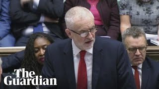 Jeremy Corbyn warns PM's Brexit deal threatens jobs, rights and environment