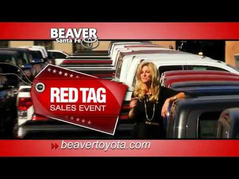 New Mexico Toyota Red Tag Sales serving Los Alamos, Santa Fe, Albuquerque Double Rebate Guarantee