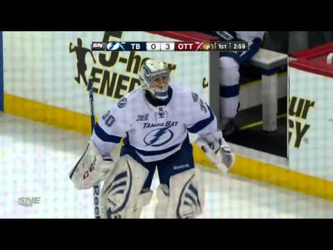 Guillaume Latendresse Goal (Tampa Bay Lightning vs Ottawa Senators Mars 23, 2013) NHL HD