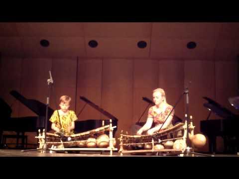 2014-2015 Wirth Center African Drummers & Dancers - Dagara Xylophone Medley