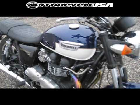 Triumph Bonneville SE 2009 Cruiser Motorcycle Review Video