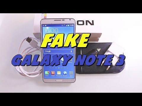 FAKE Samsung Galaxy Note 3 !  - Unboxing & Review [HD]
