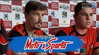 Reforços do Moto Club e preparação para jogo contra o Sparta-TO