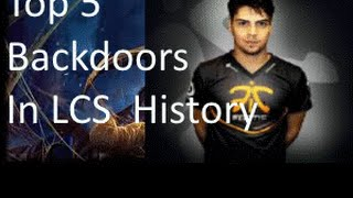 Top 5 Backdoors in Competitive History