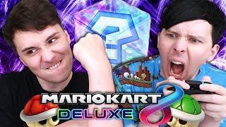 WATCH US WRECK SOME LOSERS ONLINE - Mario Kart 8 Deluxe