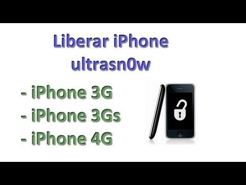 Cómo liberar el iPhone con ultrasn0w (iphone 3G. 3Gs & iPhone 4G)