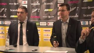 16.12.2015 lehdistötilaisuus SaiPa-Sport