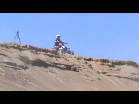 Sand pit videoclip, outlaw mxr 450, kfx450r, yfz450, 450r, warrior, 30