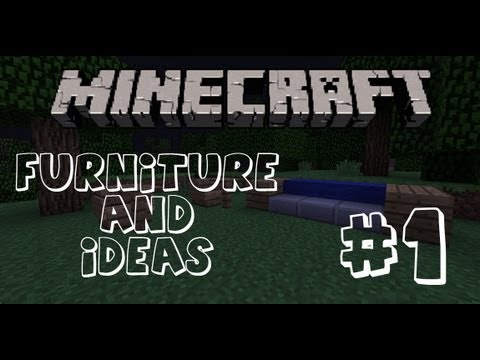 Minecraft Furniture: #1 How to make a Bed