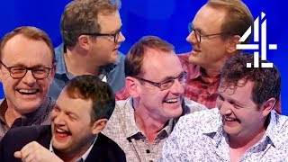 Sean Lock & Miles Jupp Funniest Moments! The FULL BROMANCE | 8 Out of 10 Cats Does Countdown