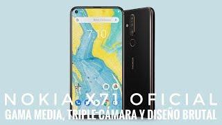 Nokia X71 Oficial - Gama media con Diseño Brutal Triple Cámara a gran precio