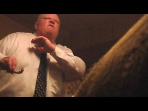 NEW Video Of Toronto Mayor Rob Ford Smoking Crack