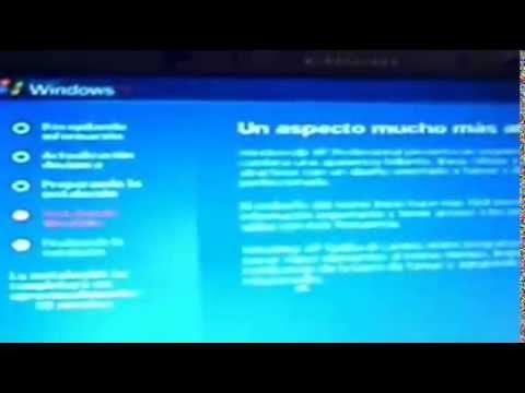 Tutorial para formatear e instalar windows xp