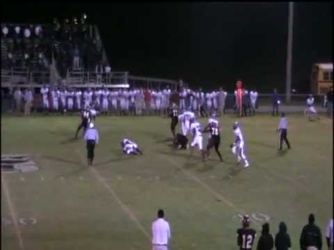 Shaquille Foster Football Highlights - Turner County High School