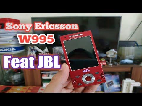 Review sony ericsson w995 feat speaker JBL Flip 3 di tahun 2018