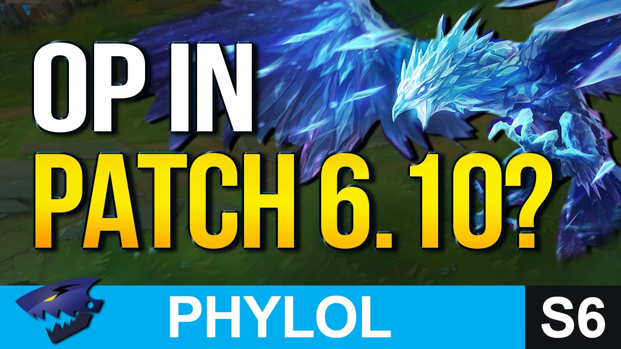 NEW STRONGEST CHAMPS in Patch 6.10 & Who to watch out for (League of Legends)